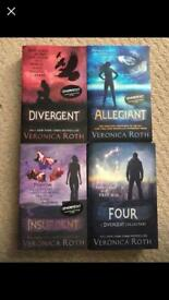 Divergent book series, including 'Four'