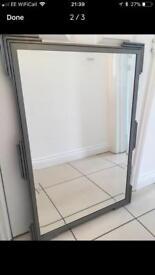 Stunning iron mirror - absolute bargain