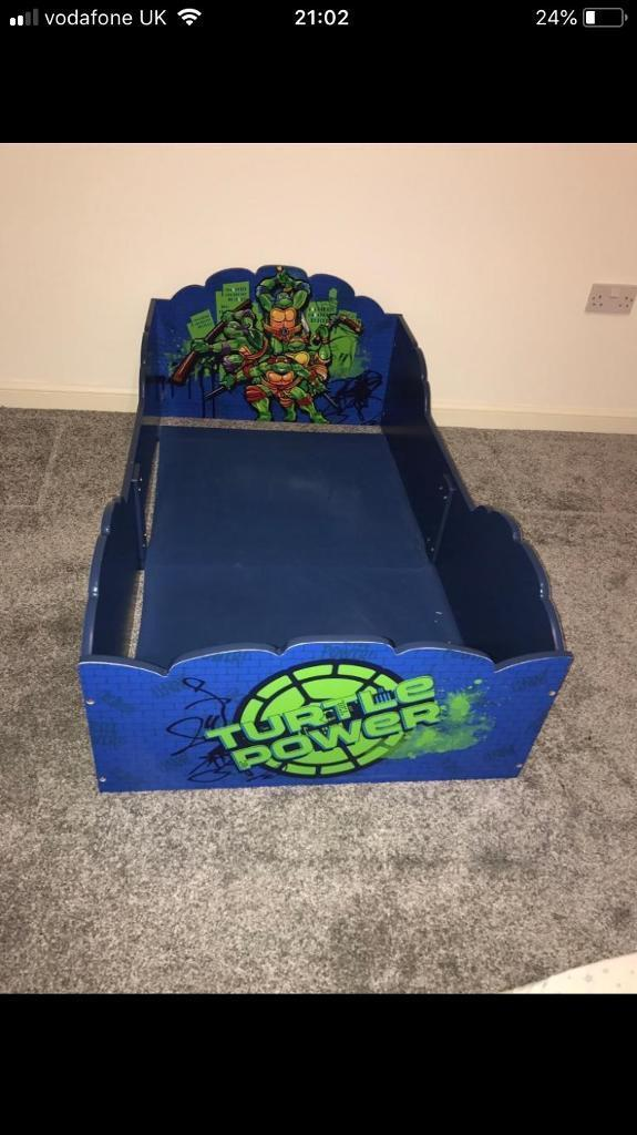 Teenage Mutant Ninja Turtles Toddler Bed Frame In Lenzie Glasgow