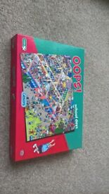 2 1000 piece jigsaw puzzles