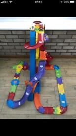 Vtech toot toot super tracks playground