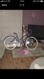 Gemini purple ladies bike