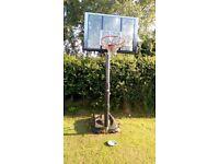 Reebok fullsize adjustable height Basketball Net