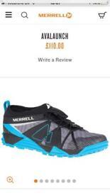 Mens Size 9 Merrell Avalaunch New