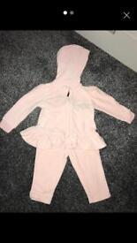 Baby girl Ralph Lauren tracksuit