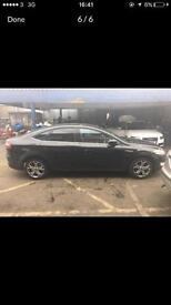 FORD MONDEO PCO REGISTERED FOR SALE