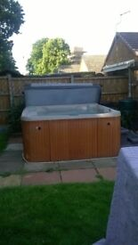 Hot Tub 4-6 Seater can be seen working. Viewing welcome.