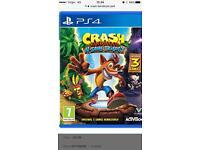 Wanted. Crash bandicoot PS4