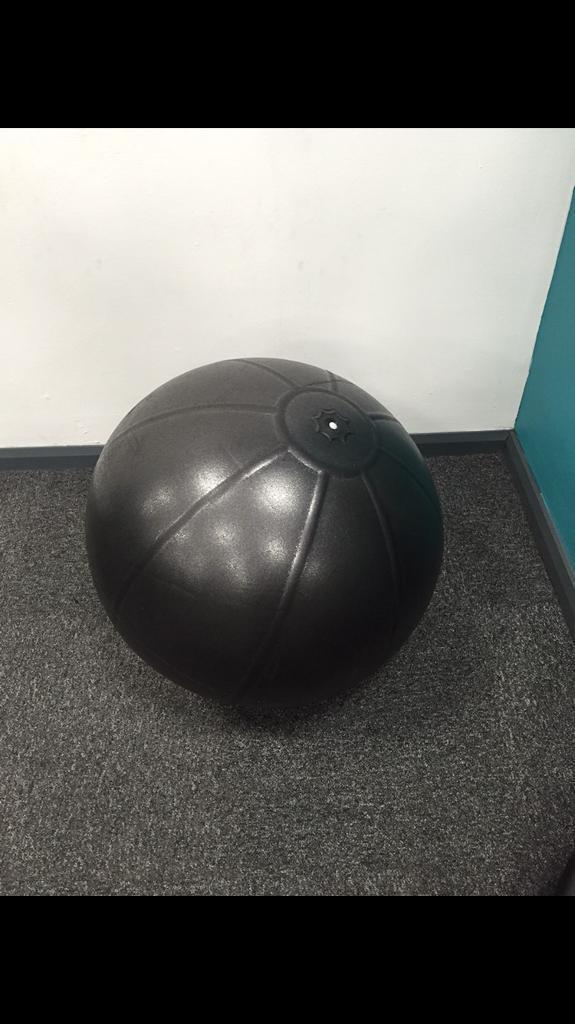 Swiss gym ball.