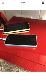 IPhone 5c pink unlocked 16 gb