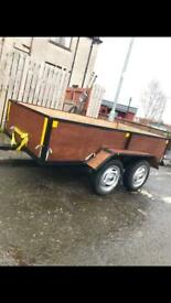 8x4.3 feet Indespension Twin Axle Trailer, Ready to Use. £250 NO OFFERS!!! Kilmarnock.
