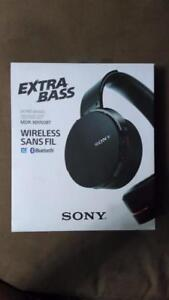 Brand NEW Sony Headphones MDR-XB950BT Extra BASS