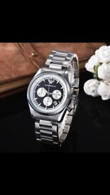 EA7 Men's watches leather or stainless steel