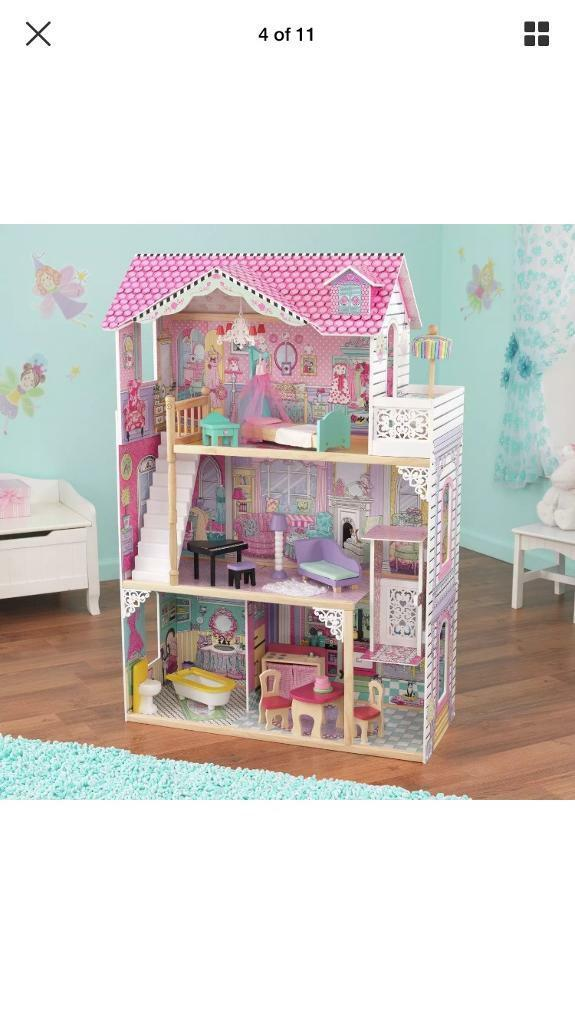 Kidskraft Annabelle Wooden Doll House- New