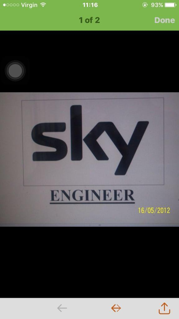 SKY DISH TECHNICIAN CABLE ENGINEER