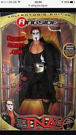 "Rare Sting WCW,WWE,TNA 12"" Figure"