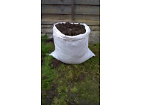Garden Top soil by the bag £2 or 10 bags £10
