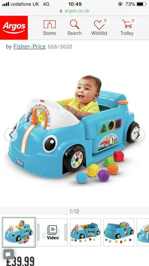Fisher Price Laugh And Learn Car In Cosham Hampshire Gumtree