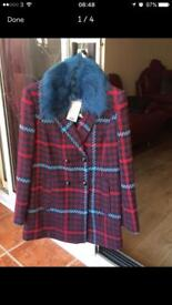 NEW !!!Size 8 coat