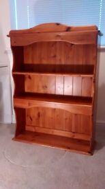 Solid Pine Bookshelf. 110 CMS X 82 CMS