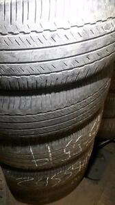 245/55/19 Used Bridgestone all season tires