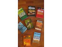 JAMES PATTERSON 8 BOOKS BUNDLE