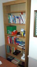 Bookcase - light oak style