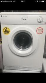 Dryer to rent vented condenser and washing machines