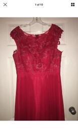 Ruby Red Prom/Wedding Dress