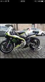 Yamaha r6 race/track bike not cbr