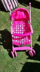 girl's hello kitty buggy