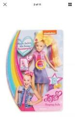 Jo Jo Siwa gift pack- sining doll and other items