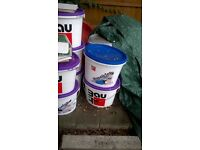 Insulation materials for polystyrene house insulation + render materials