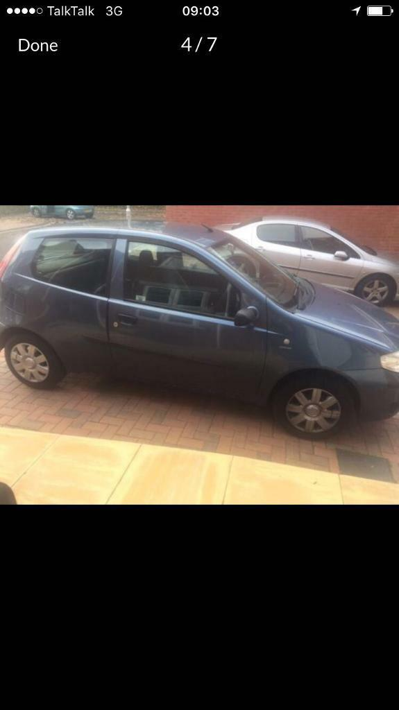 Fiat punto 1.2 ideal first time car