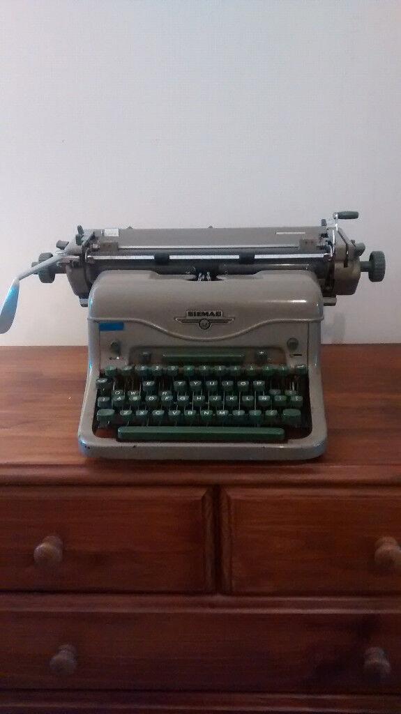 Siemag typewriter - needs TLC