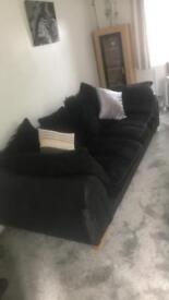 4 to 5 seater and chair for sale