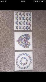 Three piece canvas