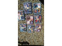 multi film DVDS, all different titles and themes, 4 films per DVD