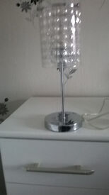 Table Lamp, as new £5.00