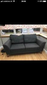 Grey sofa from Harveys