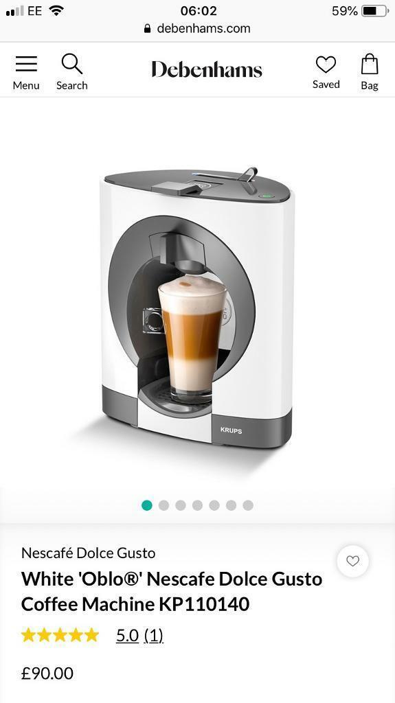Dolce Gusto Krups Coffee Machine In Norwich Norfolk Gumtree
