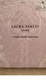 Laura Ashley Curtains Extra Large New