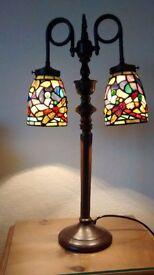 Tiffany Double Lamp.