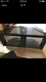 40 inch Samsung TV and an Elegant Glass Stand