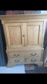 Solid pine Cabinet - really good condition