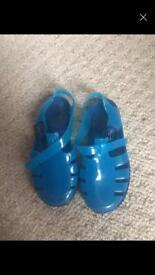 Boys blue Sandles
