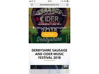 Derbyshire Sausage and Cider Festival