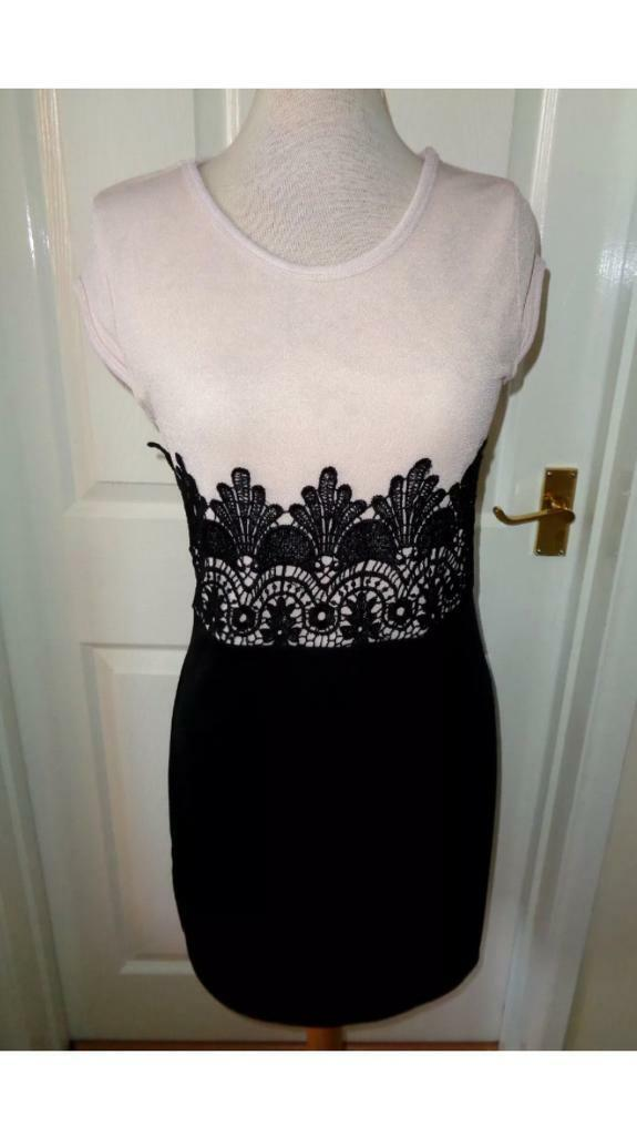 BNWT Nude and Black dress £10