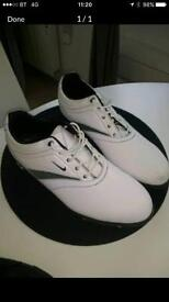 Nike air golf shoes (size 9)
