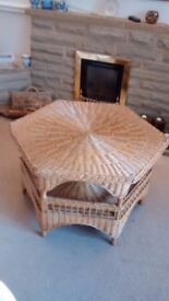 100% Wicker Coffee Table